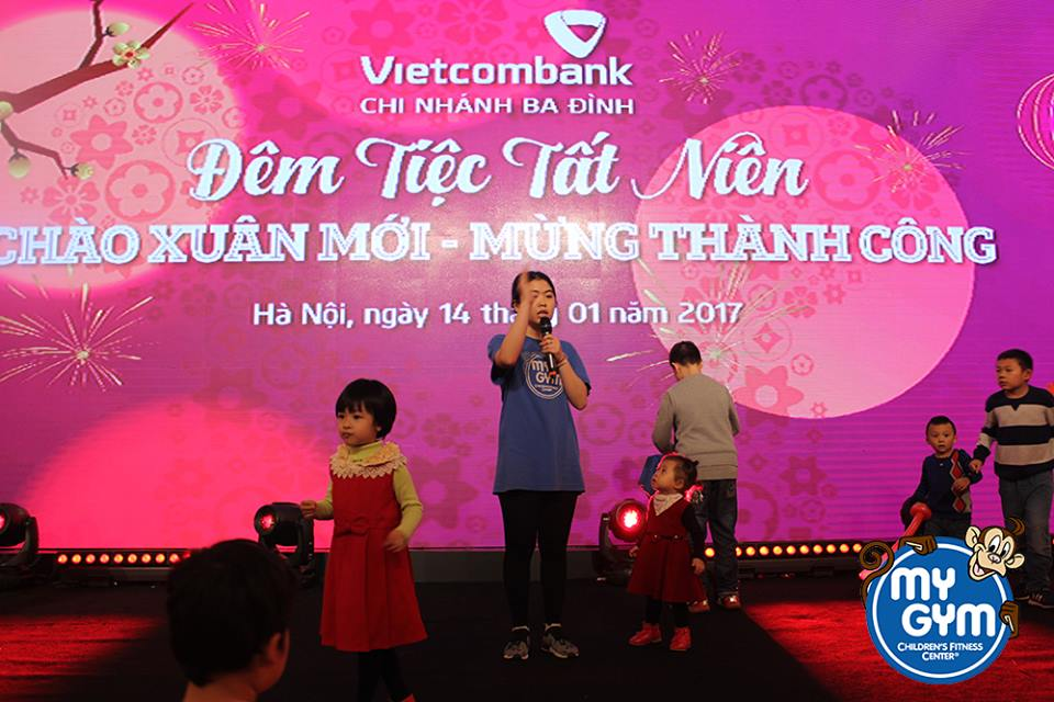 Ngày hội tất niên ngân hàng Vietcombank chi nhánh Ba Đình