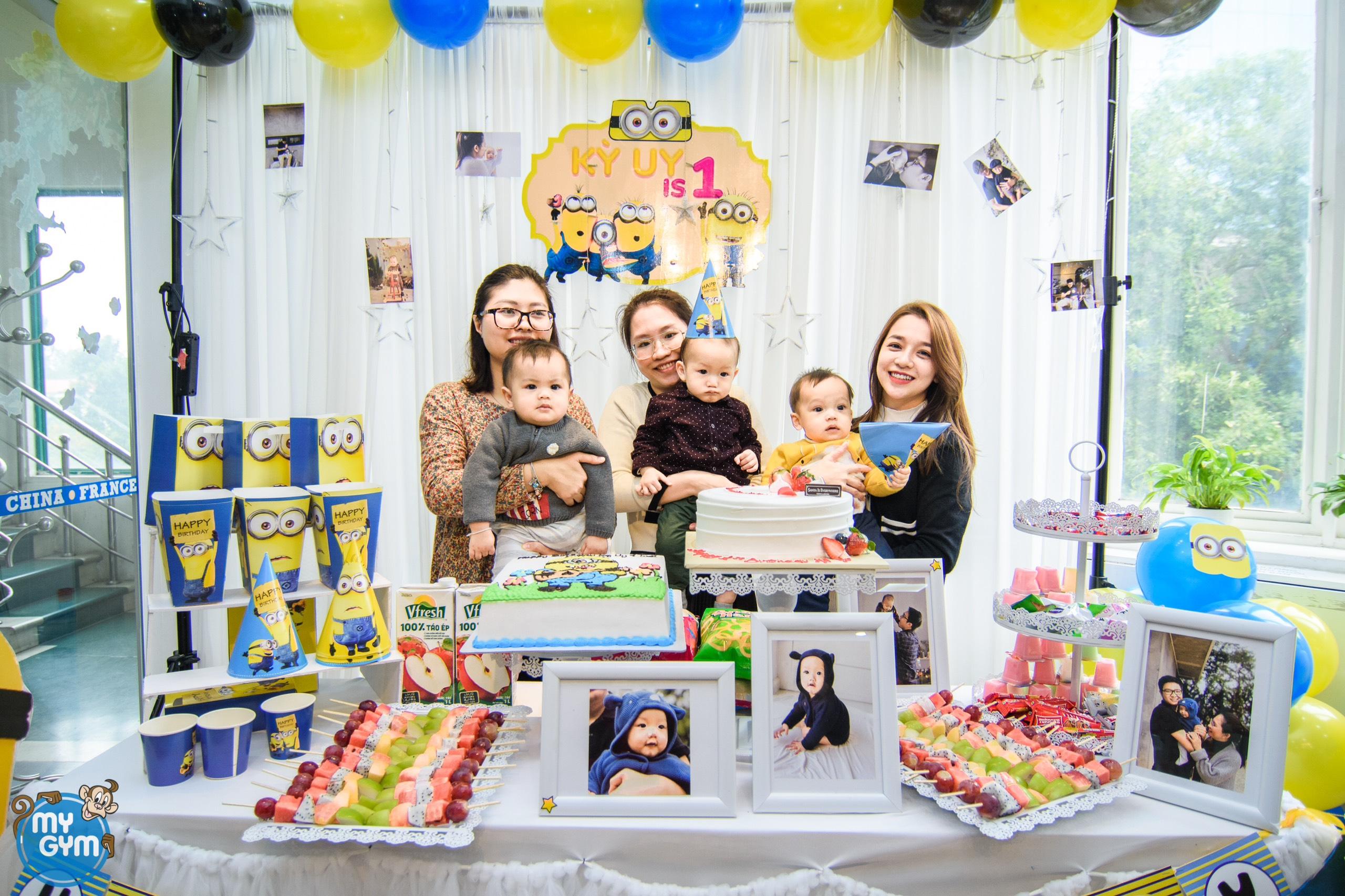 Ý tưởng tổ chức sinh nhật thật đặc biệt và mới lạ cho bé