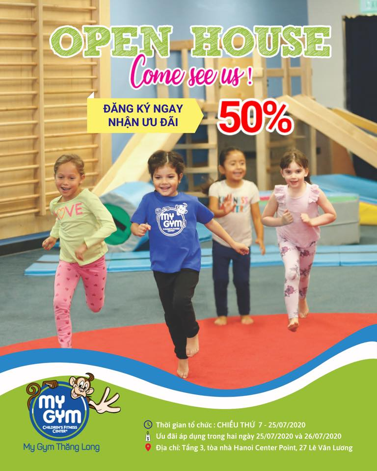 OPEN HOUSE DAY – MY GYM THĂNG LONG