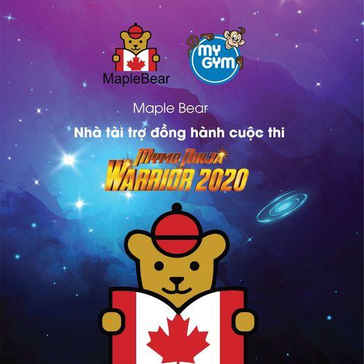 MAPLE BEAR – NHÀ TÀI TRỢ ĐỒNG HÀNH MYMO NINJA WARRIOR 2020
