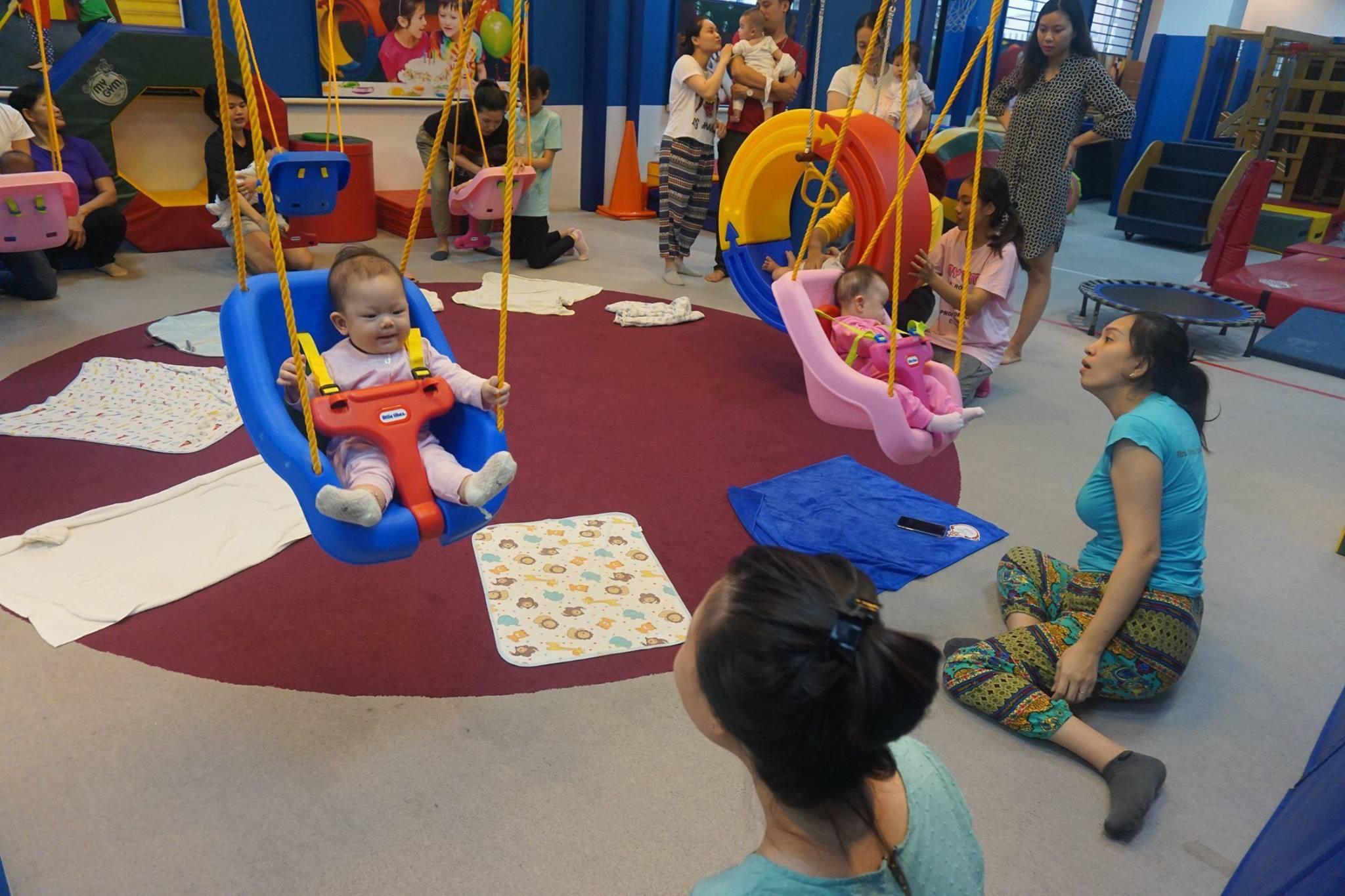 Miễn phí khóa học cho trẻ từ 6 tuần – 6 tháng tuổi.
